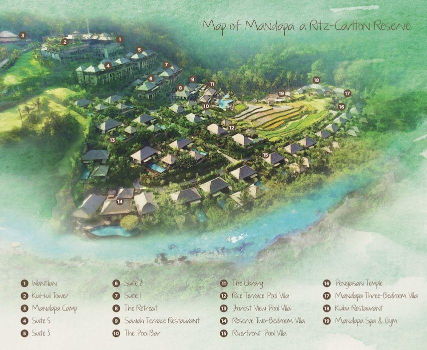 Mandapa-Bali-Resort-map