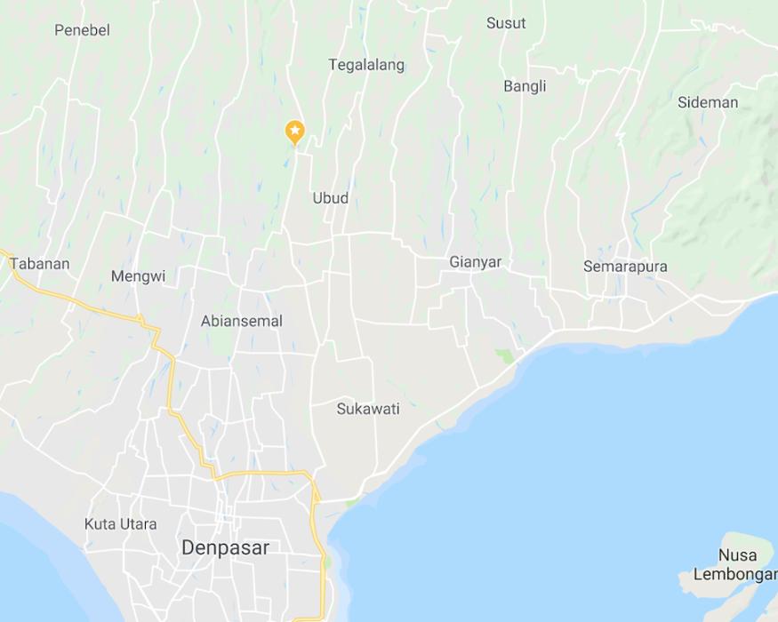 Mandapa-Bali-map