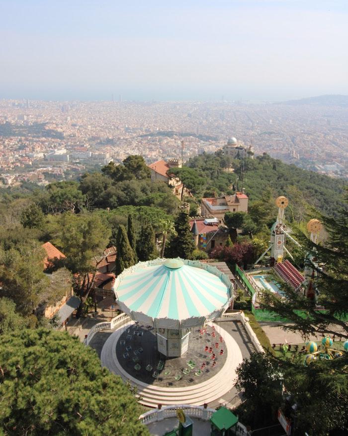 tibidabo-barcelona-view
