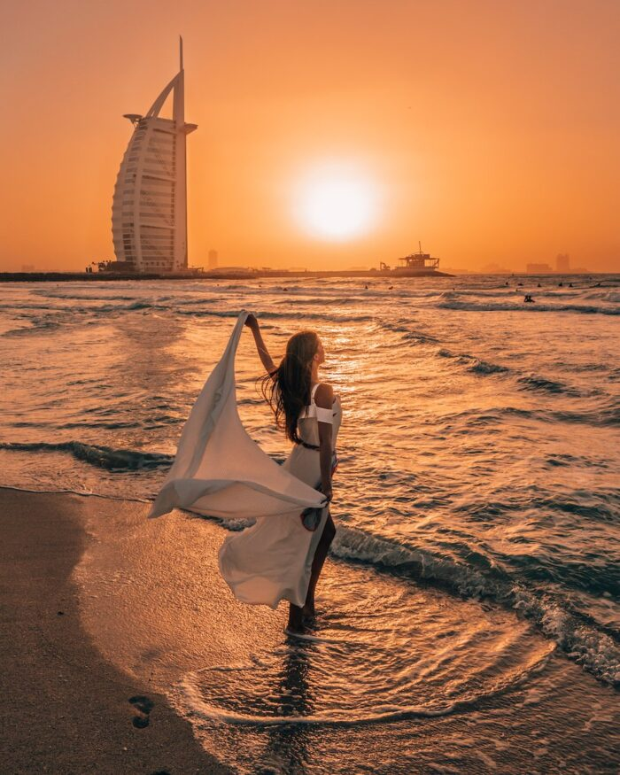 sunset burj al arab