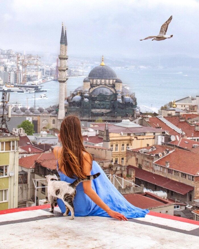 Istanbul kubbe view