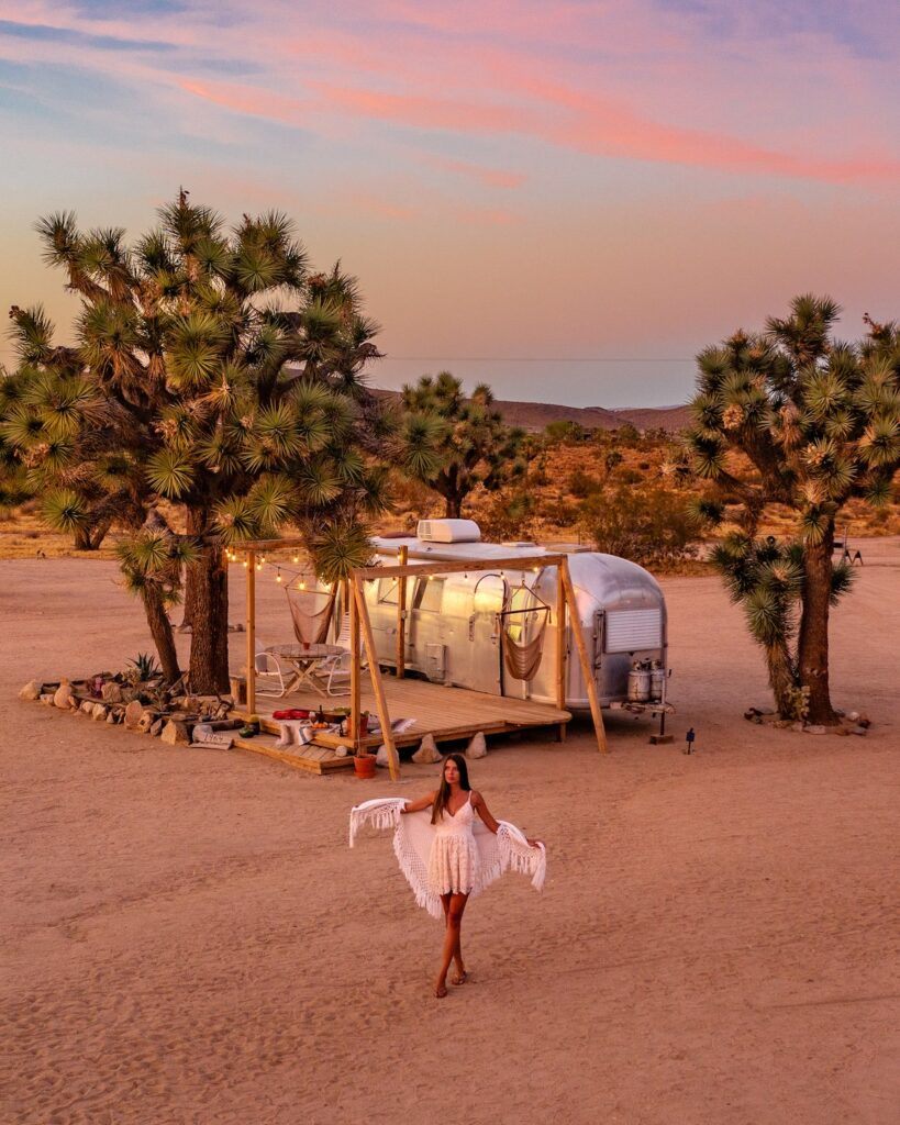 joshua tree airbnb air stream
