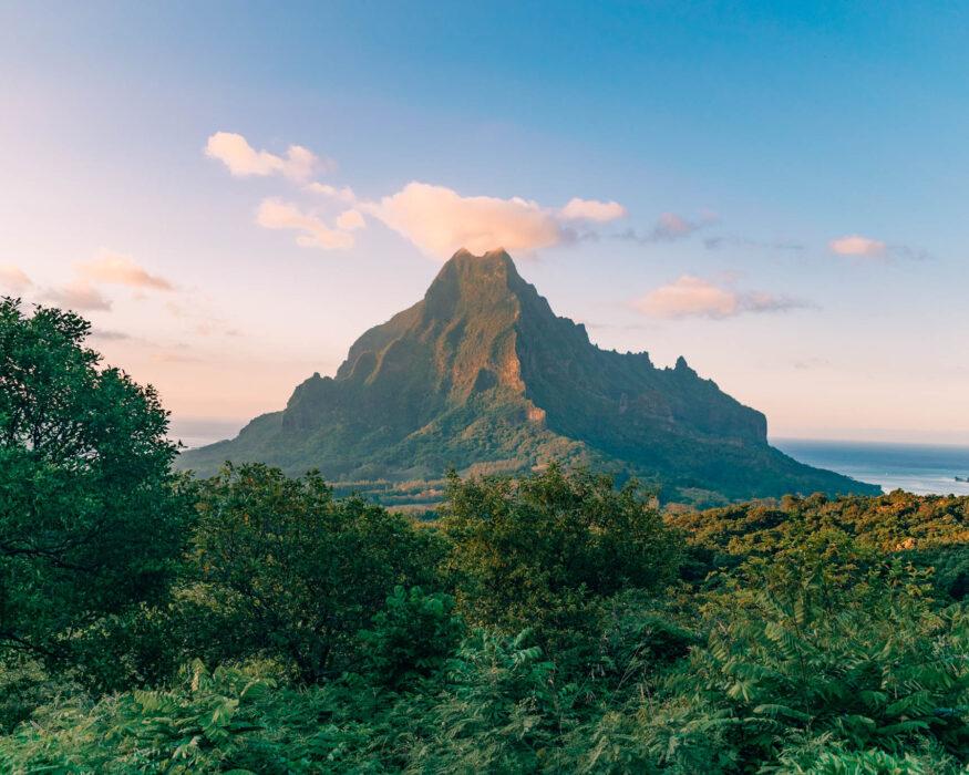 moorea belvedere lookout