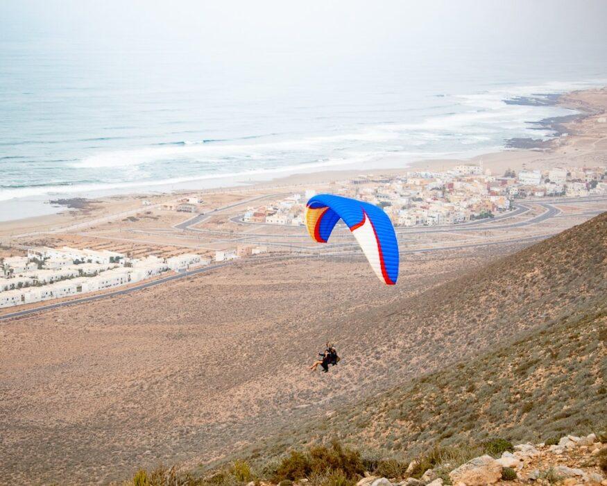 paragliding in Aglou