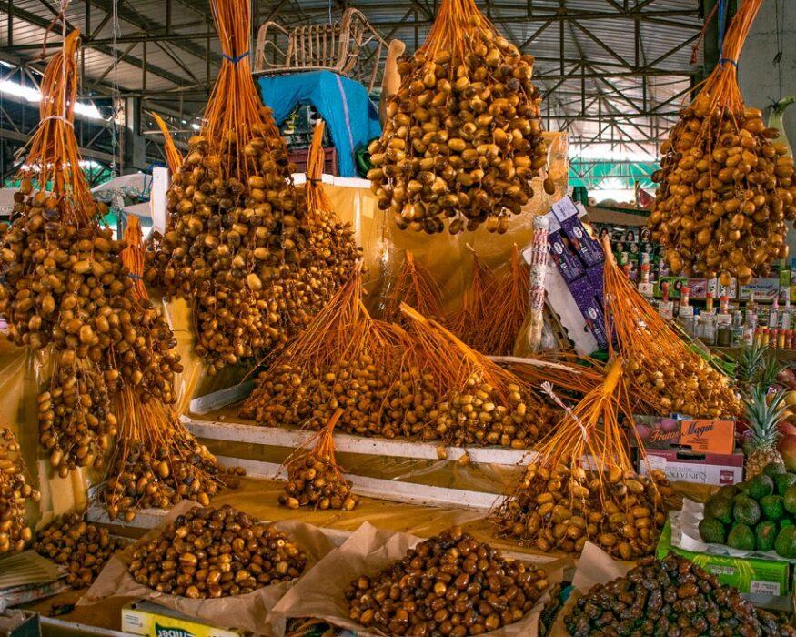 dates on market in agadir