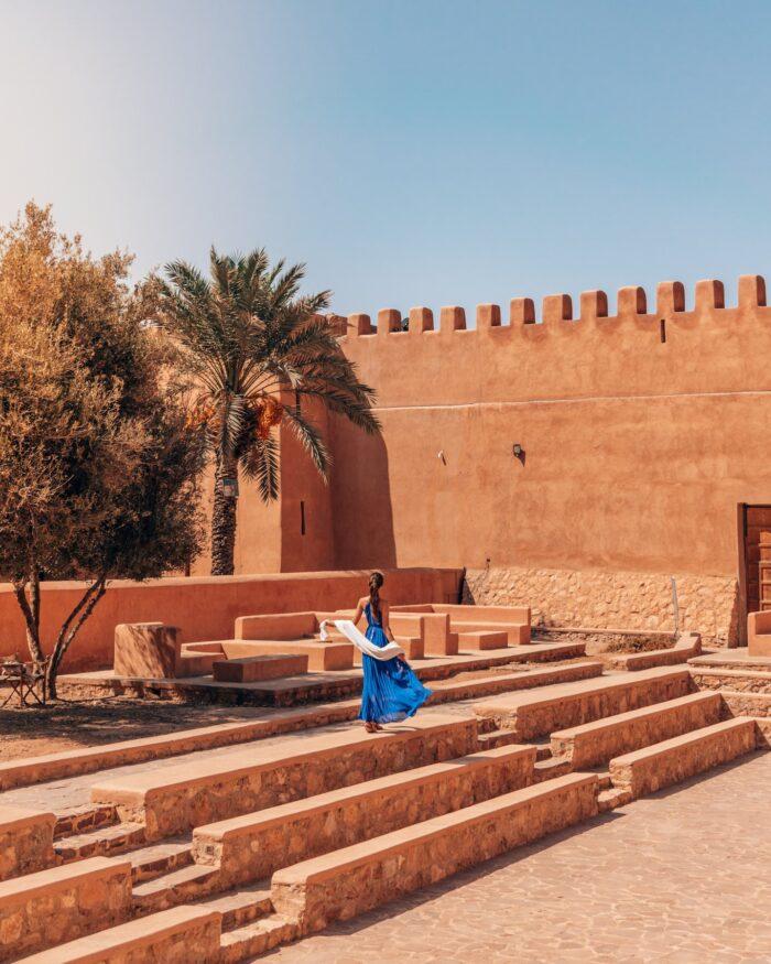 casbah of tiznit in morocco
