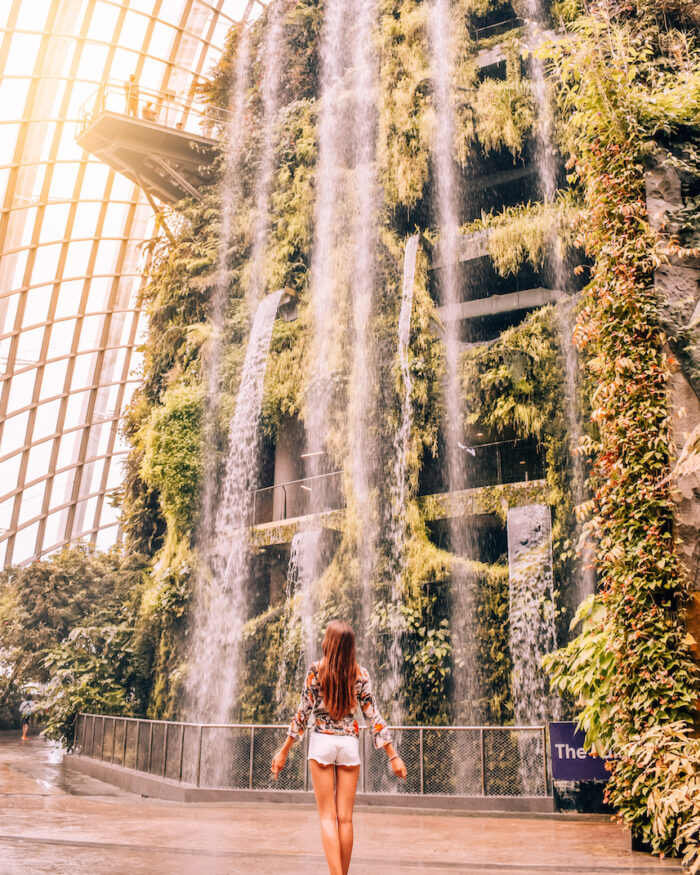 singapore-cloud-forest-waterfall