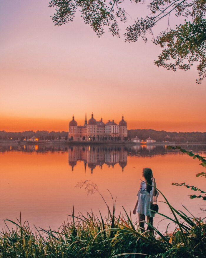 moritzburg-sunset