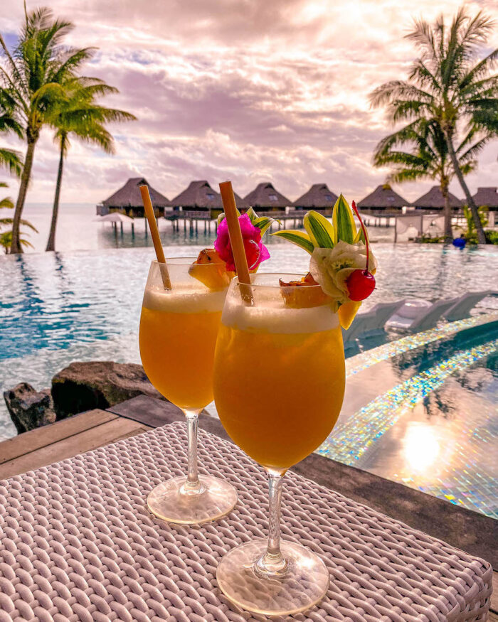 cocktails by the pool