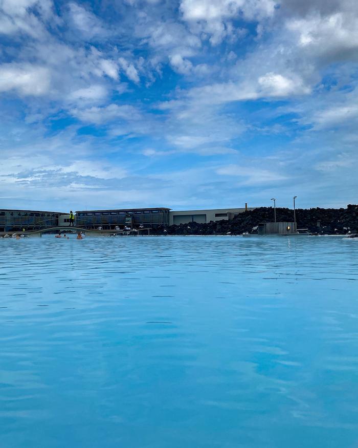 Island Highlights blue lagoon