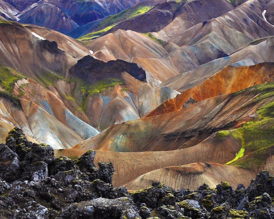 Island Highlights Landmannalaugar