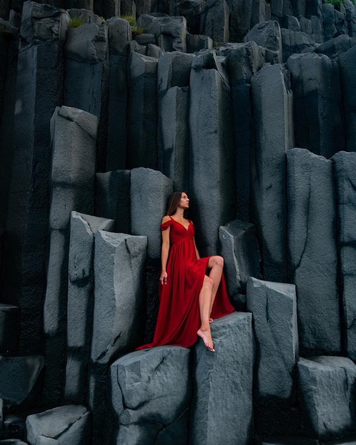 Island Highlights reynisfjara basalt columns