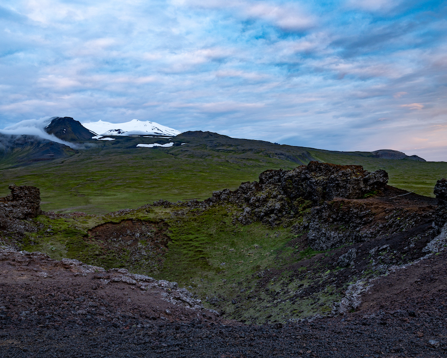 Island Highlights sacholl crater