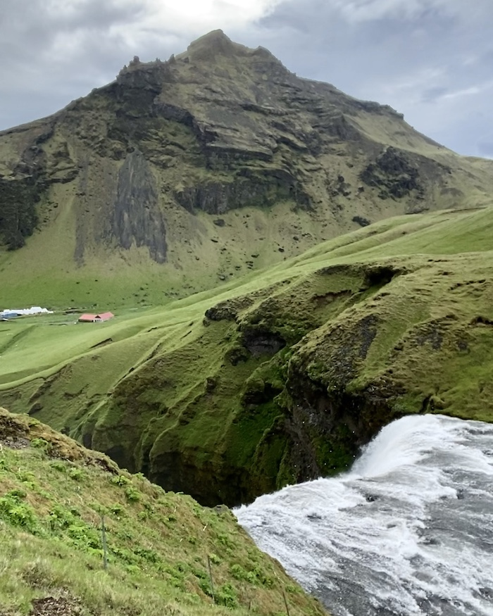 Skogafoss waterfall view best things to do in Iceland