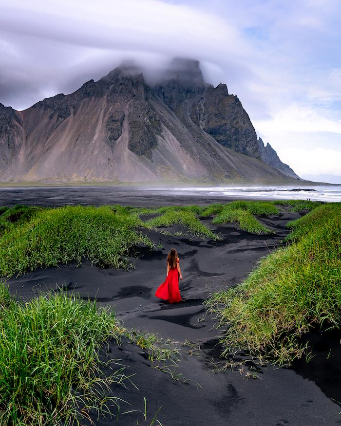 Island Highlights stokksness black dunes