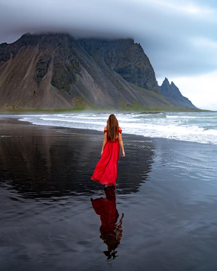 Island Highlights stokksness black beach