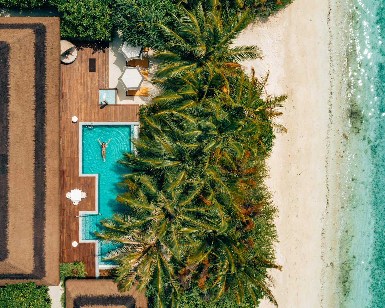 Drone-beach-villa