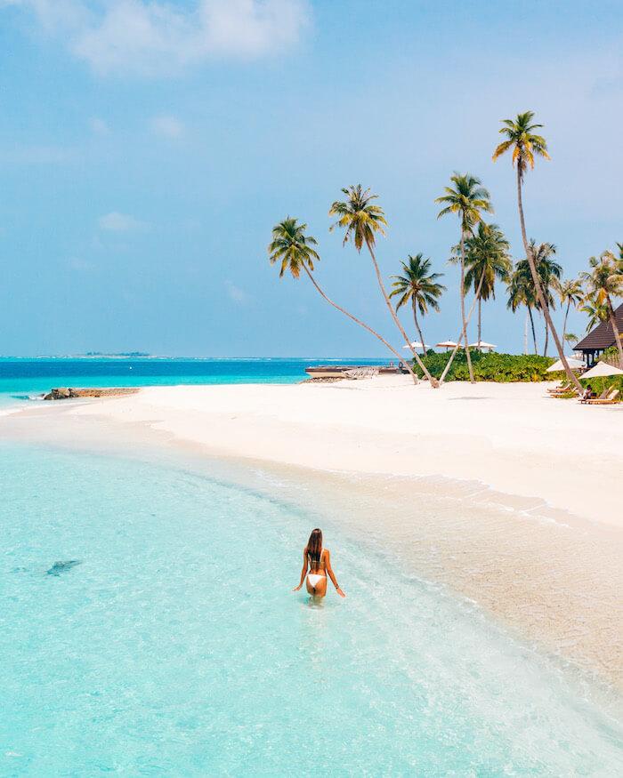 Fushifaru Maldives beach