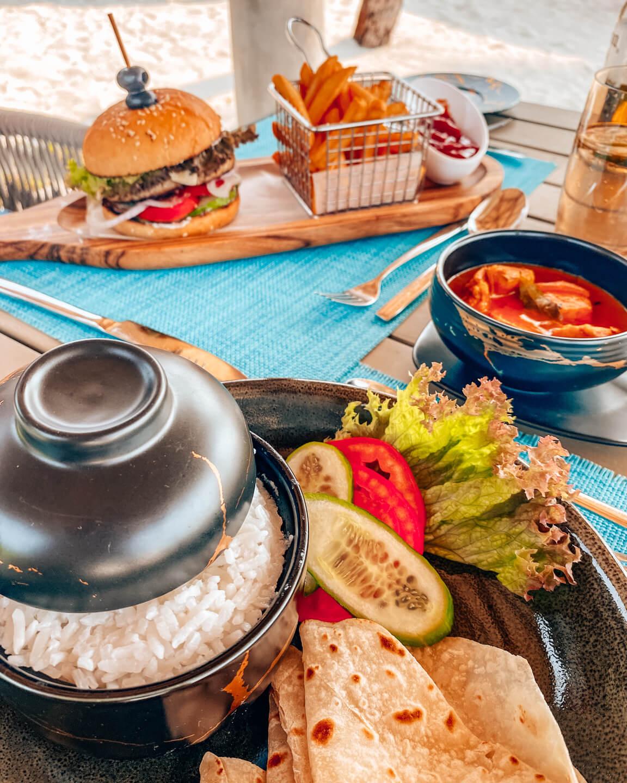 lunch Fushifaru Maldives