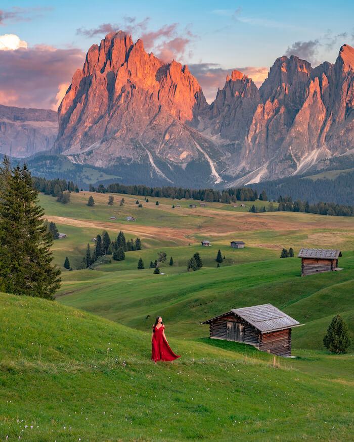 Seiser Alm Südtirol Dolomiten