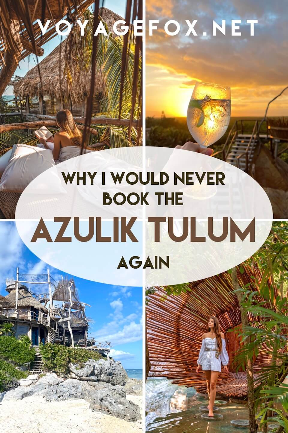 Cover for the Azulik Tulum review