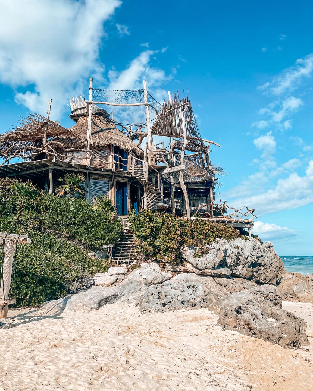 Azulik hotel Tulum beach villa