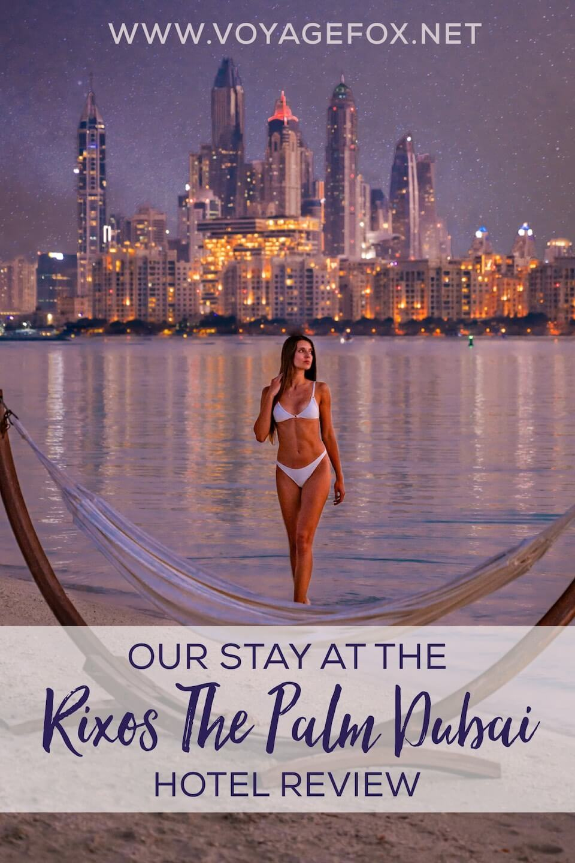 Rixos The Palm Dubai hotel review