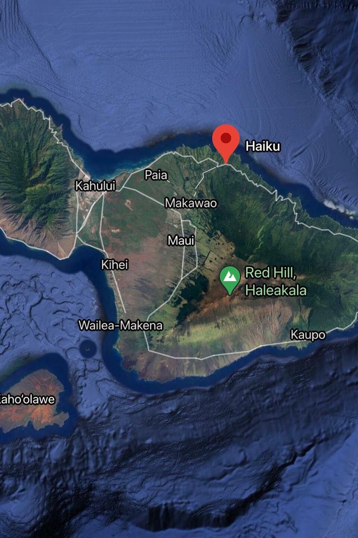 map of Oahu Hawaii