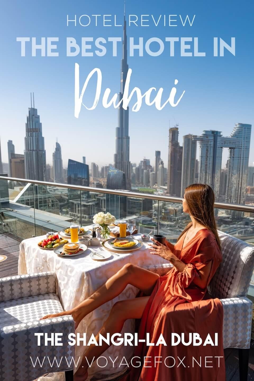 Shangri la dubai hotel review