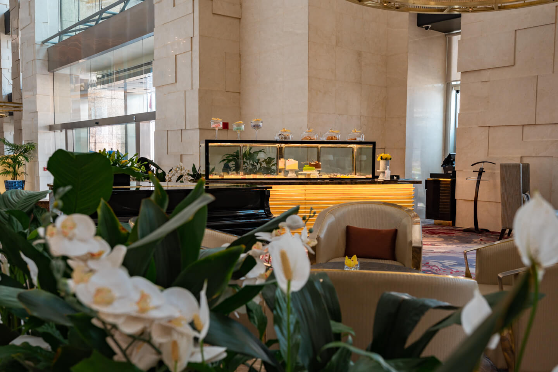 lobby at the Shangri-la dubai