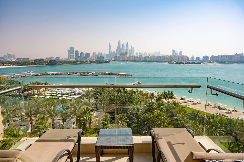 Rixos The Palm Dubai balcony view