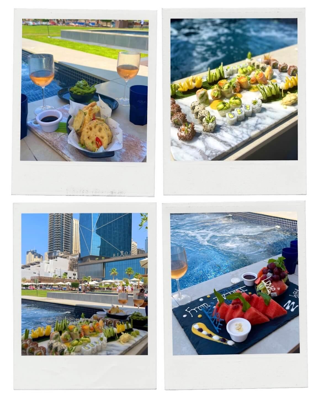 azure beach club dubai dining
