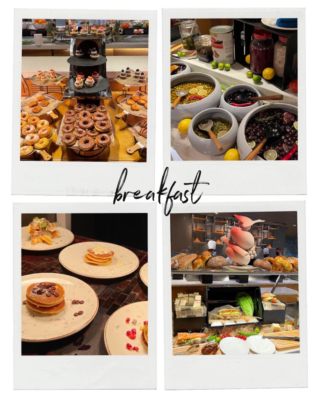 breakfast buffet at the The Rixos Premium Dubai