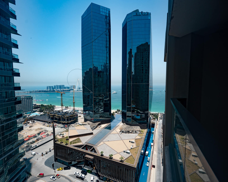 the Rixos Premium Dubai seen from outside