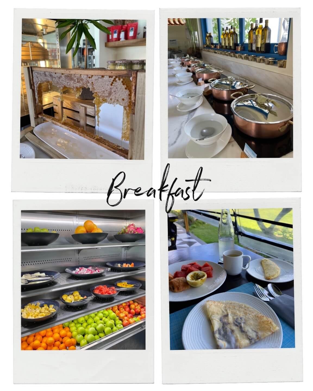 breakfast at the SAii Lagoon Maldives compilation