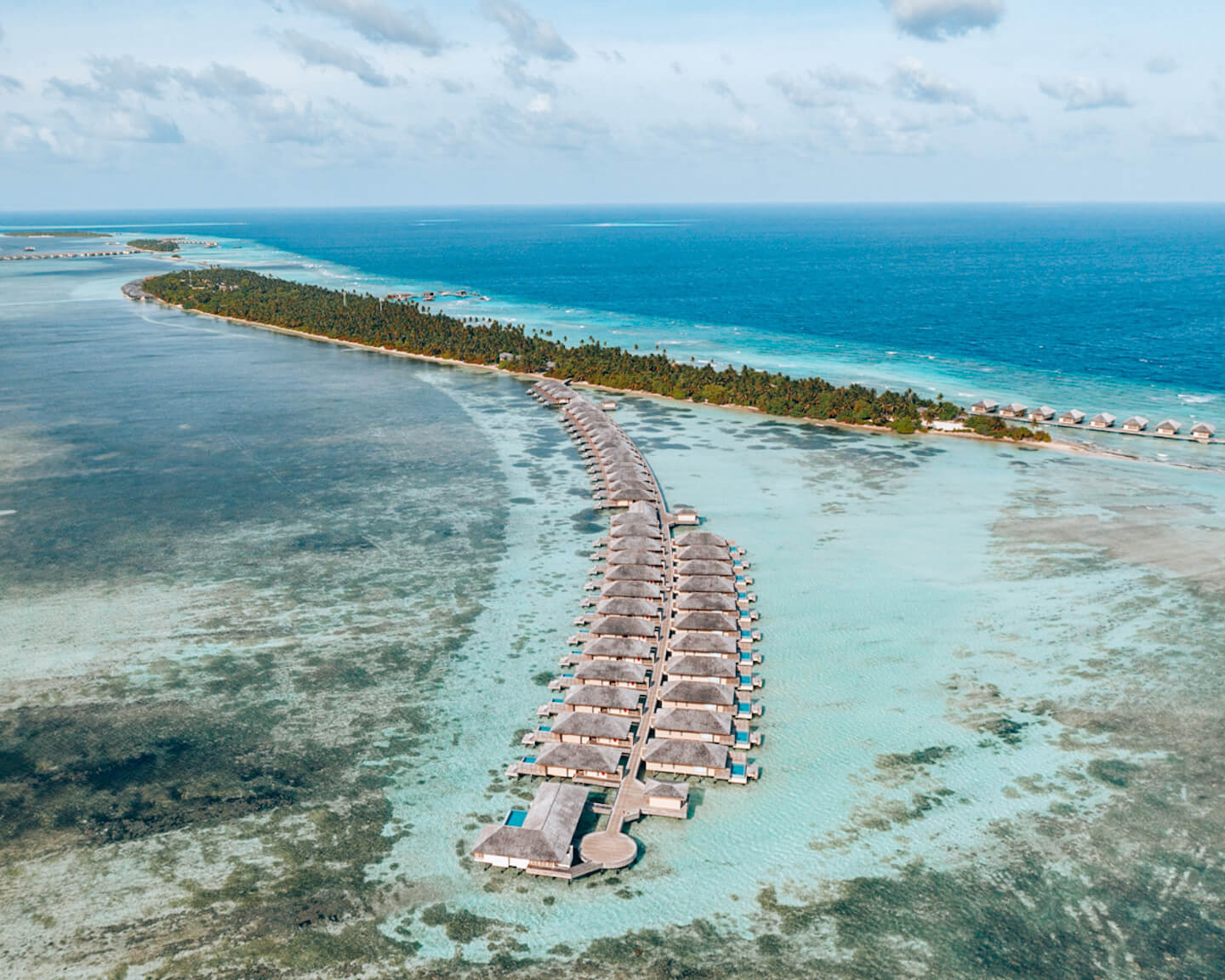 drone photo the residence maldives dhigurah hotel review