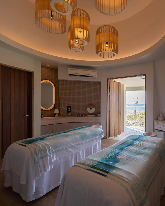 massage treatment rooms
