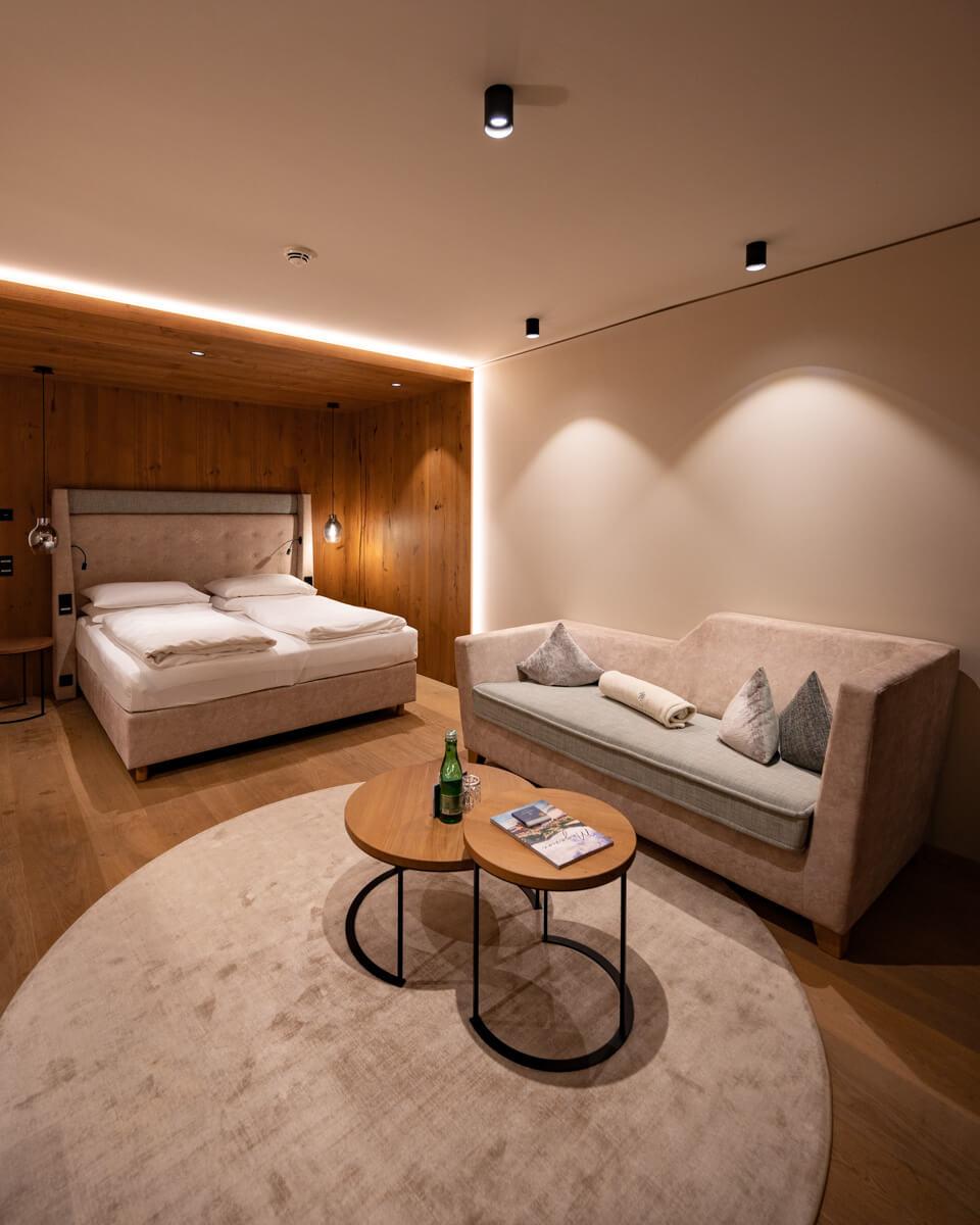 Schlafzimmer in Junior suite das edelweiss salzburg