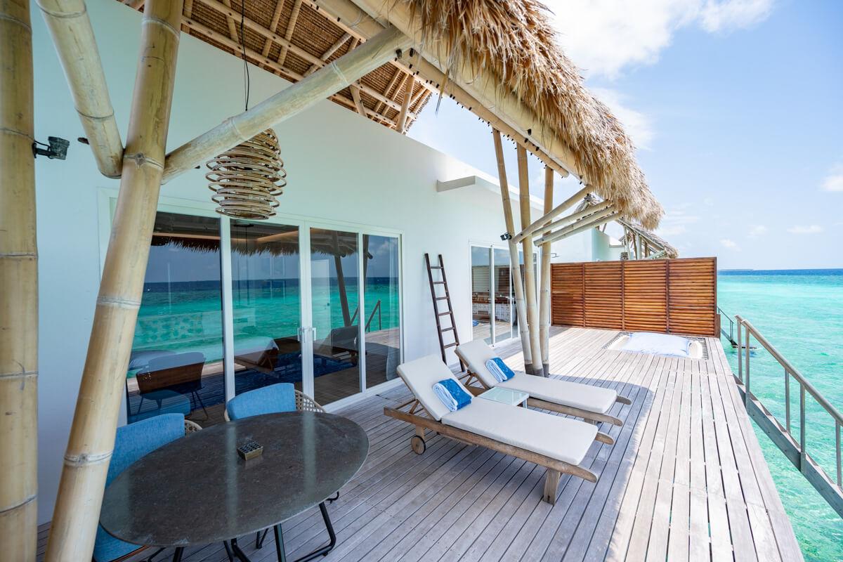 water villas emerald maldives patio