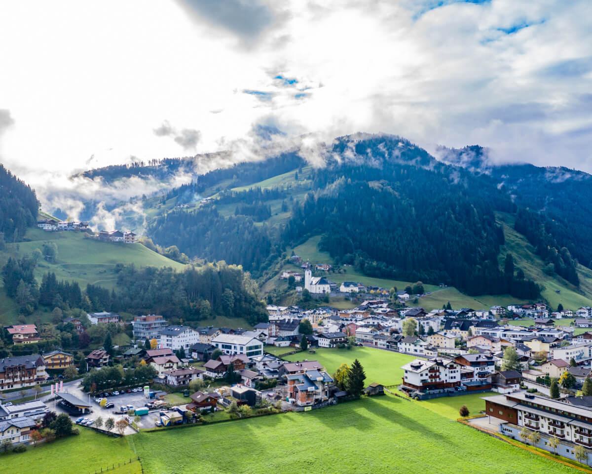 grossarl salzburg austria valley